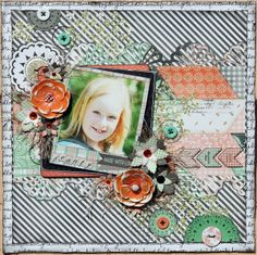 Beauty by Denise van Deventer - Scrapbook.com Bo Bunny - Pincushion Collection