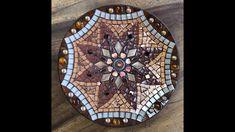 Bamboo Dishes, Mandala Design, Mosaics, Holiday Decor, Metal, Metals, Mosaic