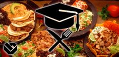 5 gemakkelijke studentenmaaltijden - kip tandoori, lasagna, pasta met bacon, aardappel wedges met of zonder worst