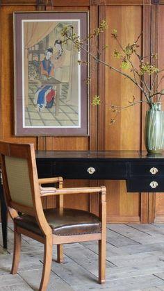 Antique Desk, Antique Furniture, Louis Xvi, Mid Century, Chair, Antiques, Vintage, Home Decor, Antiquities