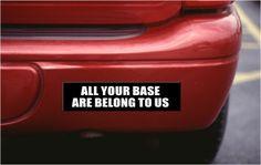 Bumper Custom Stickers