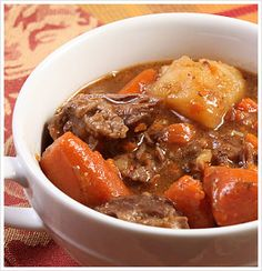 Yummy and Clean Autumn Beef Stew!