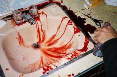 #bath #sang #blood #halloween #effrayant #scary