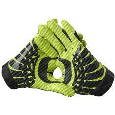 nike vapor carbon football gloves. #ducks