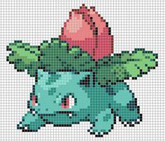 pixel pokemon on grid - Google Search
