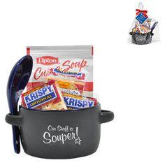 "Appreciation Soup Mug Set, featuring ""Our Staff is Souper!"" design, Stock"