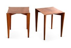 Handcrafted Lo Tables, Pair on OneKingsLane.com