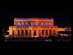 Infiorata di Noto 2015 Projection Mapping 3d