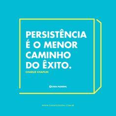 Persistência é o menor
