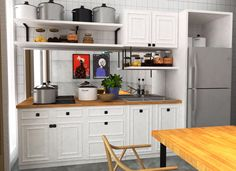 White addict  #kitchenset #minikitchen #interiordesign