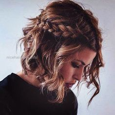 Party and NYE Hairstyles for Medium Hair This gorgeous braid is easy to style and works for medium length hair too. http://www.nicehaircuts.info/2017/05/27/party-and-nye-hairstyles-for-medium-hair/