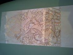 Koi and Lotus TATTOO - the drawing