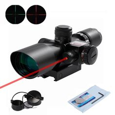 56.74$  Buy here - http://aligc3.worldwells.pw/go.php?t=32650526042 - Beileshi  Green/ Red Dot Sights Adjustable and Red Laser Sight  Combo Riflescopes 2.5-10x40 Hunting Scope