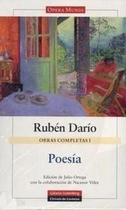 Rubén Darío. Poesía.