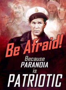 aa-poster - fear is patriotic
