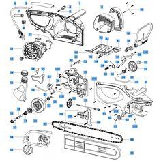 Rozběhová elektronika 648344 NAREX pro Řetězová pila EPR 40 EB 648366