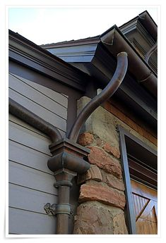 Keeping Your Home S Roof In Tip Top Condition In 2020 Gutters Seamless Gutters Copper Gutters