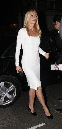 Gwyneth Paltrow in Tom Ford in London