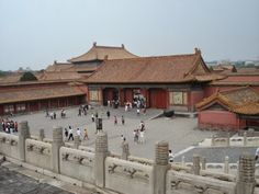 Forbidden City ( Chinese imperial palace from the Ming Dynasty to the end of the Qing Dynasty) & Temple of Heaven ( once visited by the Empe. Temple Of Heaven, Imperial Palace, Cabin, House Styles, City, Cabins, Cities, Cottage, Wooden Houses