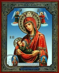 Nursing Virgin Mary - Orthodox Icon Frank Bultinck http://jezusmariagroep.blogspot.be/.../11/god-is-liefde.html