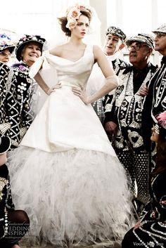 Vivienne Westwood wedding gown #bride #fashion