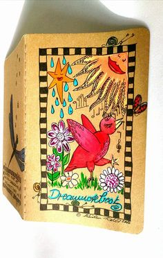 http://de.dawanda.com/product/95021731-notizbuch-dreamnotebook-nr33---kirsten-kohrt-arNOTIZBUCH-DREAMNOTEBOOK NR.33  - KIRSTEN KOHRT ART von KIRSTEN KOHRT ART  - International shipping available auf DaWanda.com