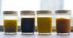 Four Salad Dressings - Recipes - Salat Salad Dressing Recipes, Salad Dressings, Salad Recipes, Great Recipes, Favorite Recipes, Dinner Recipes, Marinade Sauce, Cooking Recipes, Healthy Recipes