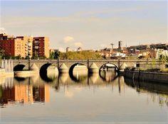 Puente de Segovia sobre el río Manzanares. Madrid