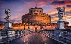 """Castel Sant'Angelo (Roma) - <a href=""""http://dleiva.com/"""" rel=""""nofollow"""">dleiva.com/</a>"""