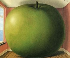 The Listening Room, 1952 by Rene Magritte  #magritte #paintings #art