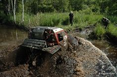 Off-road race Russia