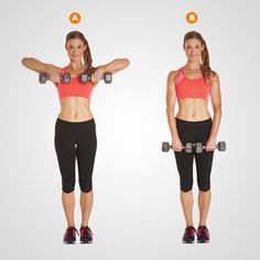 Dumbbell Upright Row…