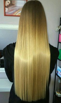 Really Long Hair, Super Long Hair, Big Hair, Haircuts For Long Hair, Straight Hairstyles, Long Dark Hair, Long Blond, Perfect Blonde Hair, Silky Smooth Hair