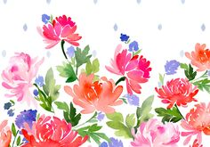 Colette and Blue- Floral — Yao Cheng Design