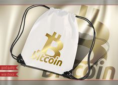 Cryptocurrency Bit coin Sport Bags Backpacks any color design BTC309 #Personalized