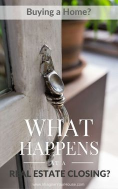 Buying a Home - What Happens at a Real Estate Home Closing? Southeast Florida Real Estate http://imagineyourhouse.com/buyer/buying-a-home-what-happens-at-a-real-estate-home-closing/