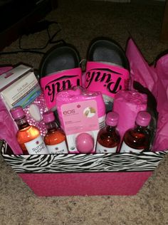 Teen girl easter basket idea gift ideas pinterest basket perfect easter basket idea for an adult 60 kellzcreationz negle