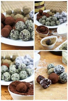 Secret-ingredient chocolate truffles. Can't wait to try these!