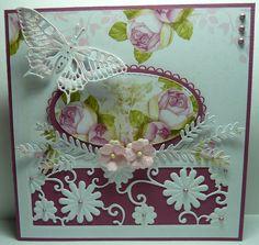 Anja Design: Bloemen en vlinders...