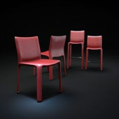 3d furniture models 412 cab chair and Bar stools