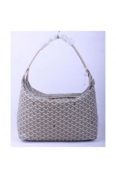 Goyard Fidji Hobo Bag Gray