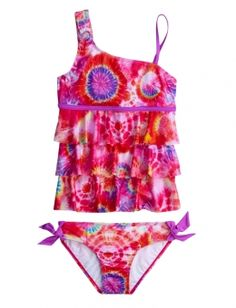 Justice is your one-stop-shop for on-trend styles in tween girls clothing & accessories. Shop our Tie Dye Tankini . Swimsuits For Tweens, Cute Swimsuits, Cute Bikinis, Girls Swimming, Swimming Suits, Baby Girl Swimsuit, Tween Girls, Baby Girls, Justice Clothing