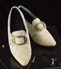 cream 18th shoes