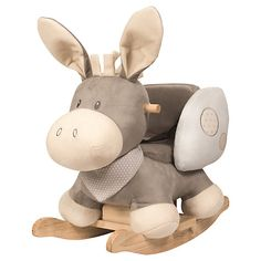 Buy Nattou Donkey Rocker, Cappuccino Online at johnlewis.com