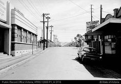 GATES COBURG MUNRO STREET EAST SIDE - Public Record Office Victoria Local History, Family History, Melbourne Suburbs, East Side, Vintage Photography, Beautiful Images, Old Photos, Gates, Past