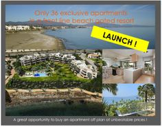 LAUNCH! Front Line Beach Project Marbella Area