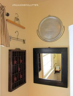 Organized Clutter: Decorating a Very Small Bathroom