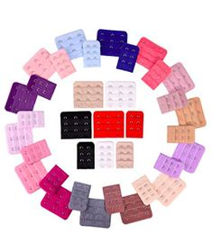 eBoot 36 Pieces Bra Extenders Brassiere Extension Hooks 2 and 3 Hooks 18 Color Bra Extender, Jolie Lingerie, Bra Straps, Vibrant Colors, Hooks, Etsy, Clothing, Store, Women's Underwear