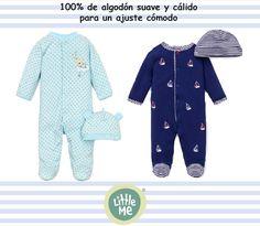 pijamas de 100% algodón www.littleme.mx