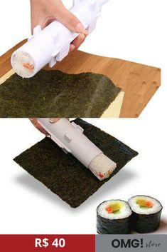 ad6fd70adcd  Sushi  FazSushi  ComidaJaponesa  Cozinha  UtensíliosDomésticos O Sushi  bazuca é uma praticidade